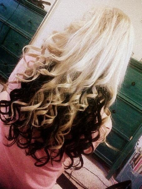 blonde top dark bottom hair i m asking if i can get my hair like this but my natural