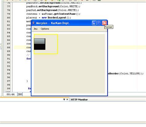 grid layout border gridlayout dans borderlayout
