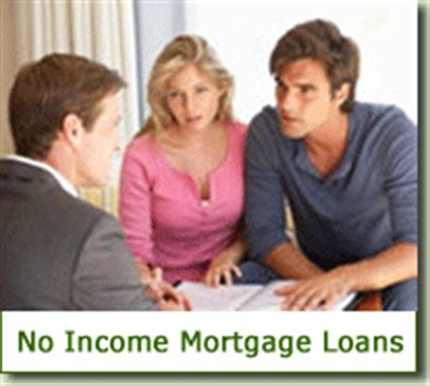 no income verification mortgage loan stated income home