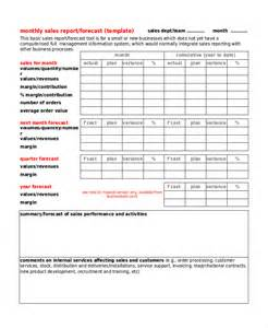monthly business report template 32 report templates free sle exle format free