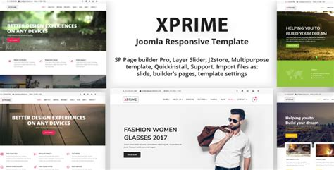 Xprime Responsive Multipurpose Joomla Theme With 60 Demos By Payothemes Page Builder Templates