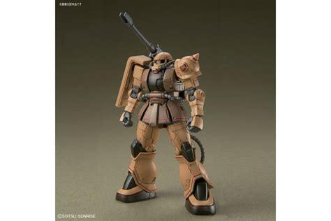 Hg Mobile Suit Gundam The Origin 1144 Local Type Gundam hg 1 144 zaku half cannon from mobile suit gundam the origin msd model kit bandai mykombini