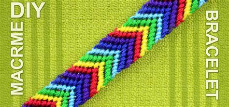How to Make a Chevron Friendship Bracelet « Jewelry :: WonderHowTo