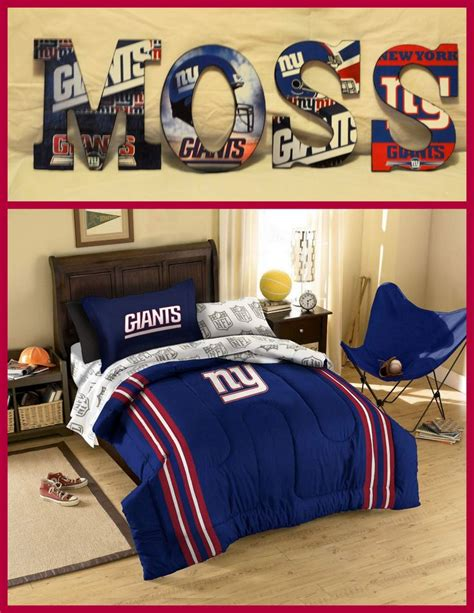 ny giants bedroom new york giants inspired wooden letters personalize your