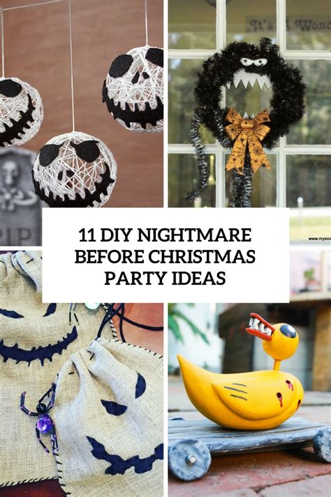 how to decorate a nightmare before christmas themed ask