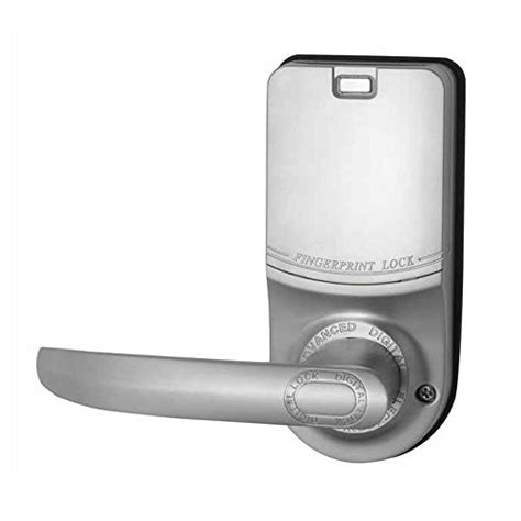 Adel Keyless Biometric Fingerprint Door Lock - adel led display keyless biometric fingerprint door lock