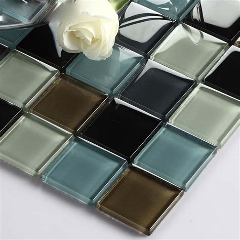 Wholesale Vitreous Mosaic Tile Crystal Glass Backsplash