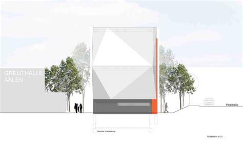 Letter Erweiterung Liebel Architekten Kletterhalle Aalen