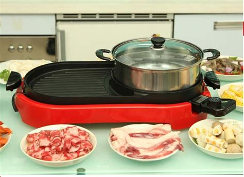 electric steamboat grill pan electric end 4 9 2019 9 15 am - Steamboat Pan
