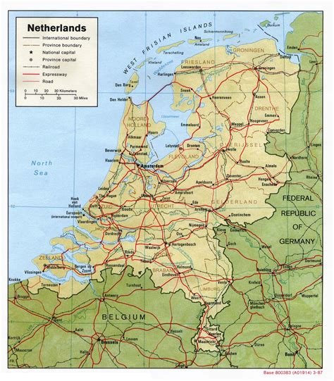 Finder Netherlands Netherlands Map Travel Information Holidays Flights