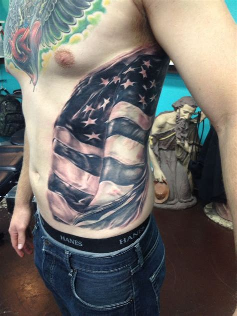 buy tattoo ink american flag inked by chris burnett at evangel ink