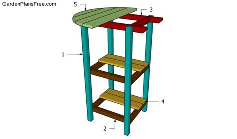 bistro table plans images