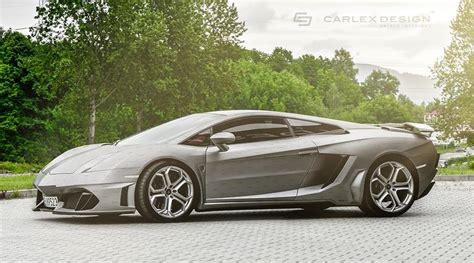 Customizable Lamborghini Custom Lamborghini Gallardo By Carlex Design