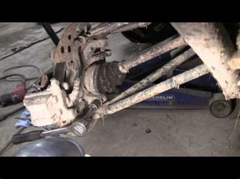 how to change wheel bearings on a boat trailer pt 1 atv cv boot replacement at d ray s shop funnycat tv