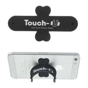 Touch U Gadget Stand Dudukkan Hp u touch universeel one touch silicone stand houder smartphone kopen