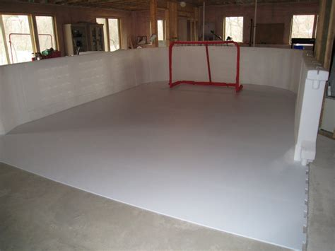 a synthetic rink you can in your basement ummm