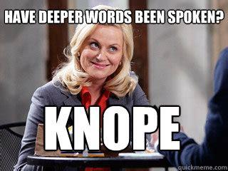 Leslie Knope Memes - parks and rec memes quickmeme
