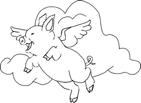 maialino volante sta colora e scarica gratis immagini e disegni di