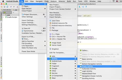 android studio layout clickable how to make android button clickable to start a new page