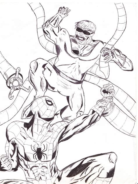 doctor octopus coloring pages 171 free coloring pages