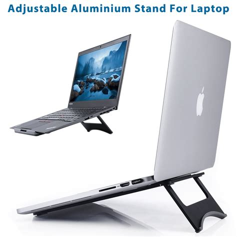 air desk laptop stand universal aluminum desk laptop stand holder for macbook
