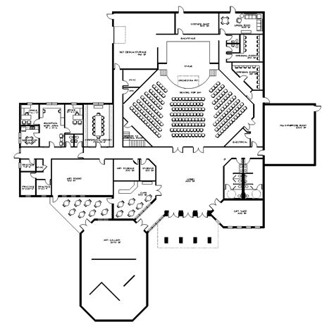 floor plan art manchester performing arts center sparkman