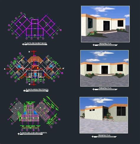 restaurant floor plans  dwg design block  autocad