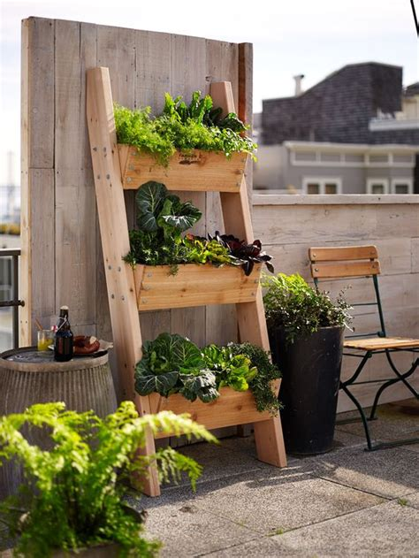 Herb Garden Planter | 18 vertical planters to save your outdoor space shelterness