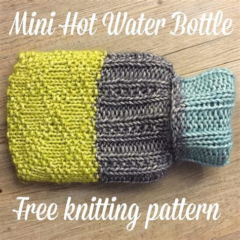 knitting patterns for water bottle covers free mini water bottle cover allfreeknitting