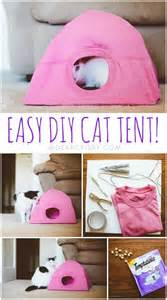 easy crafts to decorate your home find out why this diy cat tent will make your kitty very