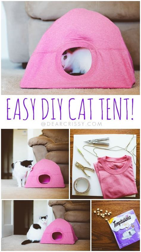 pets archives simple home diy ideas find out why this diy cat tent will make your kitty very