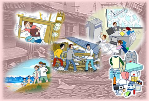 earthquake disaster management important information on countermeasures against