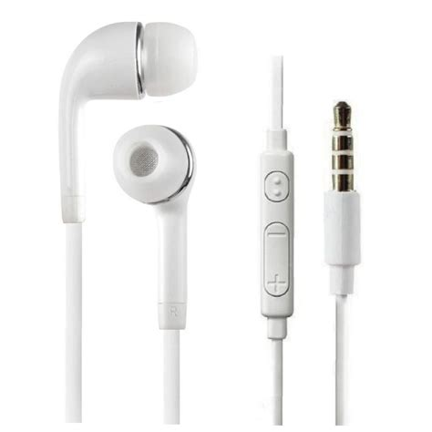 stereo headset earbud earphones w mic for samsung galaxy s6 s5 s4 s3 note 2 3 4 ebay