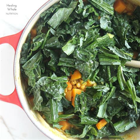 Butternut Squash Kale Soup Detox by Detox Kale Butternut And Lentil Soup Healing Whole Nutrition