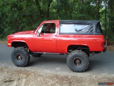 To K5 by 1983 Chevrolet Blazer K5 Blazer Picture Supermotors Net