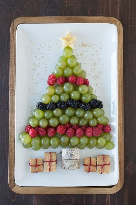 christmas fruit ideas tree fruit platter the year