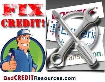 fix bad kredit fix your poor credit
