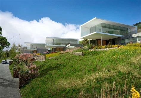 hillside house plans with a view hillside house plans 3d with amazing landscaping homescorner com