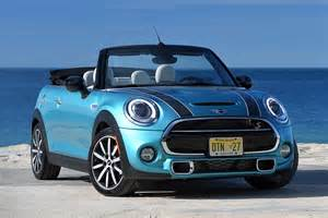 Convertible Mini Cooper Mini Cooper S Convertible 2016 Motoring Research