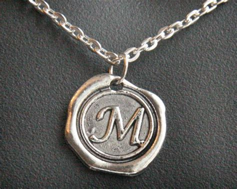 gift personalized gift jewelry initial necklace