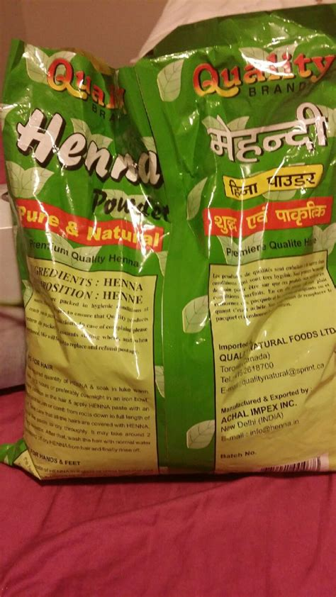 Quality Brands by Quality Brand Henna Powder Reviews Photos Makeupalley