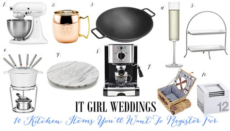 Wedding Registry Neiman by 10 Kitchen Items To Register For It Weddings