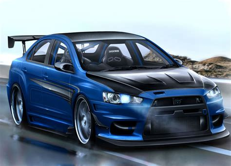 mitsubishi evolution 2014 2014 mitsubishi lancer evolution mr blue