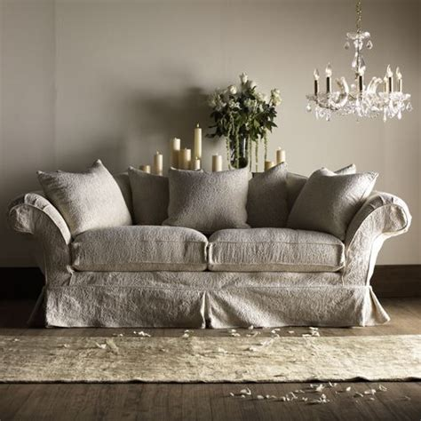 shabby chic loveseat sofa with slipcover slipcovers mostly white diy