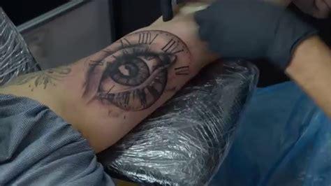 tattoo eye youtube time lapse eye tattoo youtube