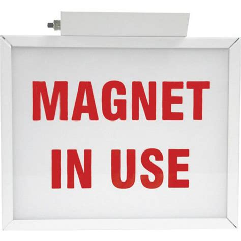 room in use lighted sign magnet in use illuminated two sided sign techno aide
