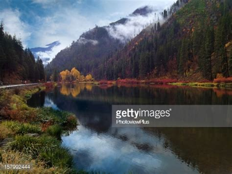 stevens pass washington state stock photo | getty images