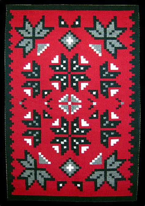 rug weaving patterns navajo rug weaving snowflake pattern