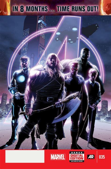 avengers time runs out jonathan hickman s avengers new avengers to end with time runs out story comic book blog