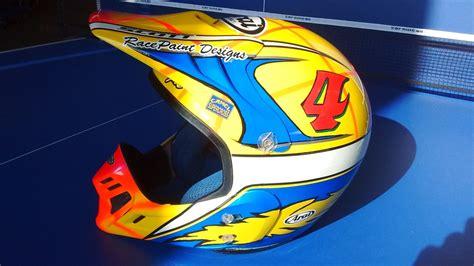 arai motocross helmet vintage arai helmet paint old moto motocross